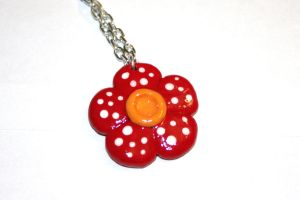 Vileplume Flower Necklace by LittleLoveInc