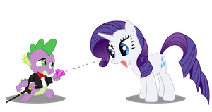 Spike 'n Rarity by Resistance-Of-Faith