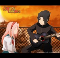 HCB 3 COVER SASUSAKU moment by annria2002