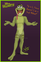 Disney Halloween-Naveen by Cor104
