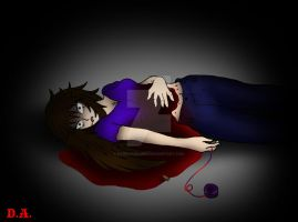 Creepypasta OC: Time of Dying by darkangel6021