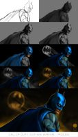 Call of Duty: Gotham Warfare - Process by PhotoshopIsMyKung-Fu