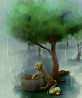 Rain Feels Mighta' Nice by ExplosiveGent
