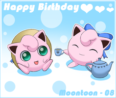 Jigglypuff Birthday by Moontoon