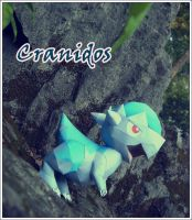 Cranidos in mountain by Toshikun