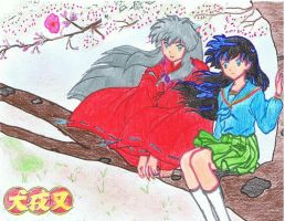 Inuyasha's Fan Art by Irene927