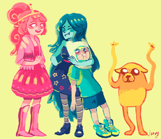 Adventure Time by jununy