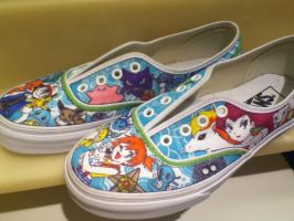 Pokemon Shoes for Alexis by angelica462