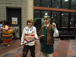 Knight Academy Link and Capt. Link by Jacky-the-Nerd