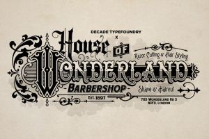 House Of Wonderland Barber by geesucks