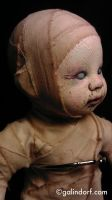 The Mummy Child (face) by Galindorf