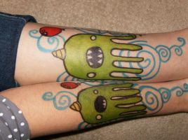 octo sharpie tattoo :D by emilystarr