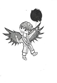 JUNGKOOK BTS WINGS  by Dragonfly-V