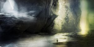 Water Cave by jordangrimmer