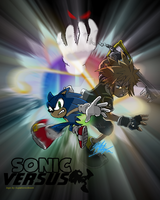 .:SONIC VERSUS: Poster by 5courgesbestbuddy