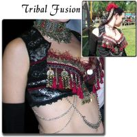 Tribal Fusion Dancer by ArmouredRaven