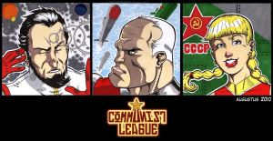 CommunistLeague Sketchcards II by augustustodopoderoso
