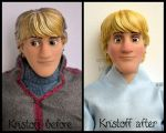 repainted ooak summer kristoff doll. by verirrtesIrrlicht
