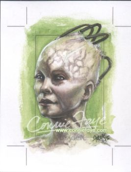 The Borg Queen - Rittenhouse Archives Voyager by ConnieFaye