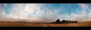 Skies from the Three Frontiers - II by MD-Arts