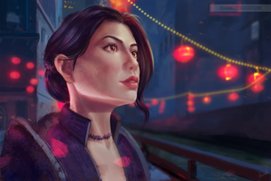 [Commission] Dreamfall Chapters. Zoe Maya Castillo by RoanNna