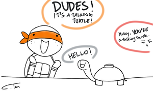 MINE TURTLE! by DerpsonMuffinpants