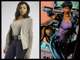 DC Casting - Amanda Waller by Doc0316