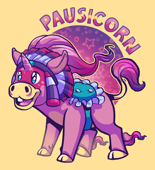 Pausicorn by IntroducingEmy
