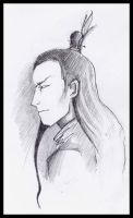 Lord Ozai - sketch by Lady-Pirate