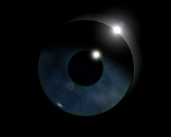 eye with gimp and blender by panzi