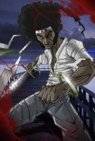 afro SAMURAI by Ulics