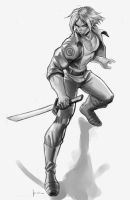 trunks grayscale by Felsus