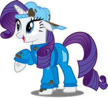 Vector #590 - Rarity #25 by DashieSparkle