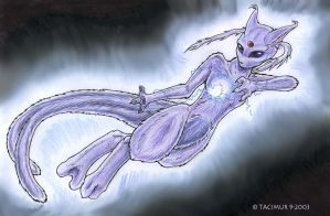 Espeon-Mewtwo by Tacimur