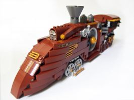 LEGO. Steam locomotive_2 by DwalinF