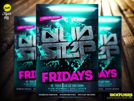 FREE DUBSTEP FLYER TEMPLATE by Industrykidz