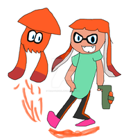 Inkling Girl by tails-fangirl