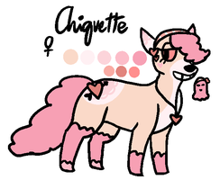 Chiquette reference by kittystuff