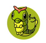 Pokeddex Day 7 - Caterpie by Kame-Ghost