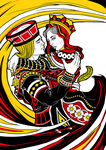 Queen and Jack by canitiem