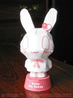 Holly the Bunny Papercraft by Henrickson