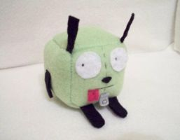 Gir Cube Plushie by Cube-lees