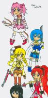 Magicial Girls by Nicktoons4ever