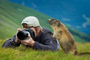 Me and the Marmot by AndreasResch