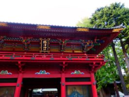 Shrine detail by postaldude66
