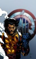 Fallen Son Wolverine colored by RCarter