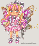 Flower Fairy Lighter version Adopt OPEN by Snowlyn