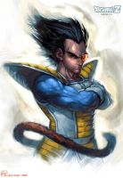 Vegeta - Prince of the Saiyan by Giye