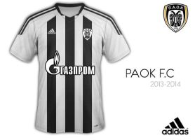 PAOK shirt 2013-2014 Adidas by fanis2007