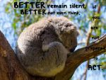 Better remain silent by LueDscha